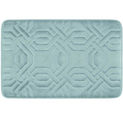 Bounce Comfort Chain Ring Memory Foam Bath Mat Collection