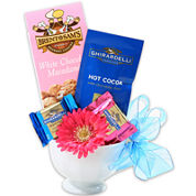 Alder Creek Ghirardelli Cup of Sunshine Gift Set