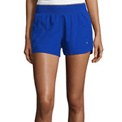 Xersion™ Woven Front Knit Back Shorts
