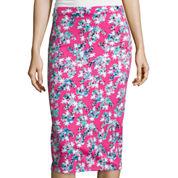 I 'Heart' Ronson® Floral Midi Skirt