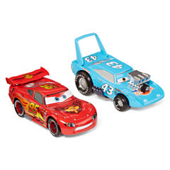 Disney Collection Lightning McQueen and King Toy Car Set