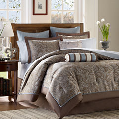 Madison Park Whitman 12-pc. Complete Bedding Set with Sheets Collection