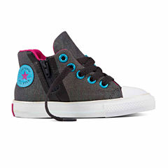 Converse® Chuck Taylor All Star Sport Zip Hi Girls Sneakers - Toddler