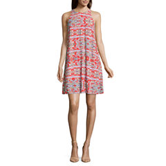 Roxberi Sleeveless Shift Dress