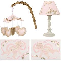 Cotton Tale Lollipops & Roses 4-pc. Décor Kit