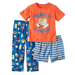 Carter's 3-pc. Kids Pajama Set Boys