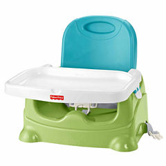 Fisher Price Healthy Care Booster Seat - Green Blue