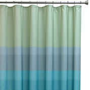 Bacova Textured Stripe Shower Curtain