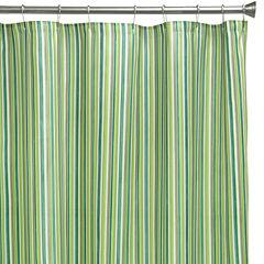 Bacova Sea Stripe Shower Curtain