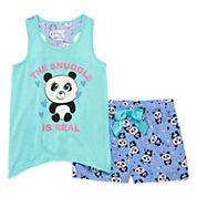 Starride Kids Shorts Pajama Set Girls