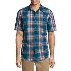 St. John's Bay Terra Tek Pucker Shirt
