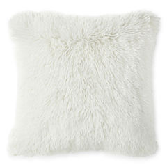 Home Expressions Faux Fur Decorative Pillow