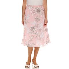 Alfred Dunner Flared Skirt