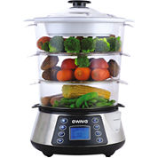 Magic Chef® 3-Layer Food Steamer