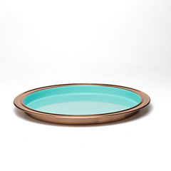 Fiesta Copper Barware Bar Tray