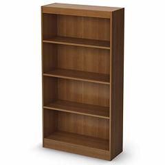 Axess 4-Shelf Bookcase