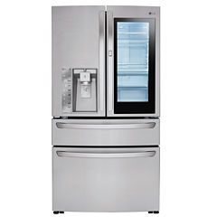 LG 23 cu. ft. InstaView™ Door-in-Door® Counter-Depth Refrigerator