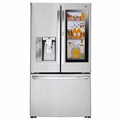 LG ENERGY STAR® 24 cu. ft. InstaView™ Door-in-Door® Counter-Depth Refrigerator