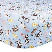 Trend Lab® Baby Barnyard Fitted Crib Sheet