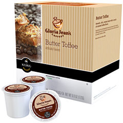 Keurig® K-Cup® Gloria Jean's® 108-ct. Butter Toffee Coffee Pack