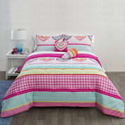 JCPenney Home™ Hearts and Stripes Comforter Set & Accessories