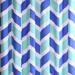 Mi Zone Julie Microfiber Shower Curtain