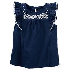 Oshkosh Short Sleeve T-Shirt-Preschool Girls