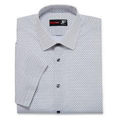 JFerrar Stretch Slim Fit Short Sleeve Dress Shirt