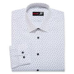 J.Ferrar Easy-Care Stretch Long Sleeve Dress Shirt