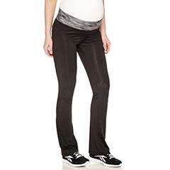 Knit Yoga Pants-Maternity
