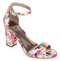 Worthington Beckwith Womens Heeled Sandals