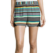 Love by Design High-Rise Crochet Lace Short