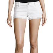 Vanilla Star® Crochet-Trim Shorts