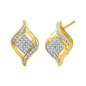1/10 CT. T.W. Diamond Cluster Earrings