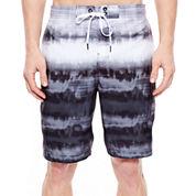 Speedo® Tie-Dye Striped Swim Trunks