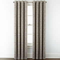 JCPenney Home™ Addison Blackout Grommet-Top Curtain Panel