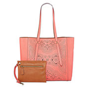 Arizona Perforated Reversible Tote Bag with Accessory Pouch