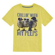 City Streets Short Sleeve T-Shirt-Big Kid Boys