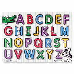 Melissa & Doug® See-Inside Alphabet Peg (UC)