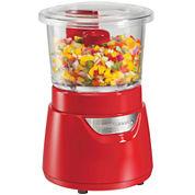 Hamilton Beach® 3-Cup Glass Bowl Food Chopper