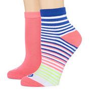 Xersion 2 Pair Quarter Socks