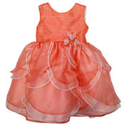 Nanette Baby Sleeveless Party Dress - Toddler Girls