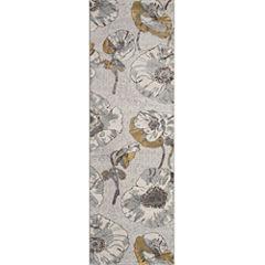 Momeni Luxe Large Floral Rectangular Rugs