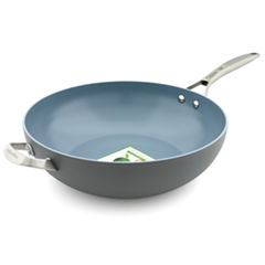 GreenPan Paris Pro Hard Anodized Non-Stick Wok