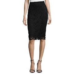 Worthington Lace Pencil Skirt