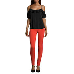 i jeans by Buffalo Ruffle Cold Shoulder Top or Super Stretch Pants