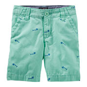 OshKosh B'gosh® Cotton Shorts - Preschool Boys 4-7