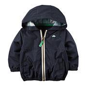 Carter's® Lightweight Hooded Navy Jacket - Baby Boys newborn-24m