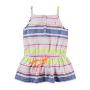 Carter's® Sleeveless Striped Tunic – Toddler Girls 2t-5t