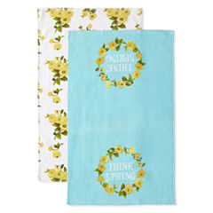 JCPenney Home Think Spring 2-pc. Kitchen Towel